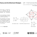 DCG lecture: Graph Theory and Architectural Designs with Krishnendra Shekhawat